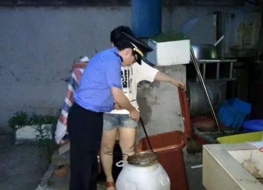 目前白鹤镇区居民垃圾分类的知晓率达到95%